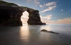 Spain - As Catedrais Beach (Ribadeo, Lugo) by Iñigo Barandiaran