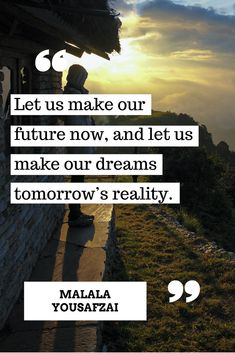Let us make our future NOW #motivation #inspirational