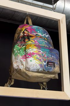 Eastpak all the way! Eastpack Artist Studio Exhibit @ Jaguarshoes Collective, London