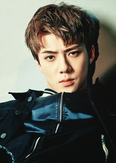 Sehun❤ I love that look Sehun, Kpop Exo, Park Chanyeol, Chanbaek, Kaisoo, K Pop, Rapper, Kim Minseok, Xiuchen