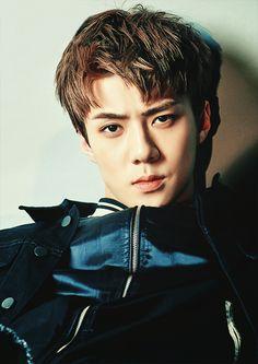 Sehun❤ I love that look Sehun, Kpop Exo, Park Chanyeol, Chanbaek, Exo Ot12, Kaisoo, K Pop, Rapper, Xiuchen