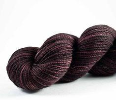 Chocolate Box High Twist sock (one off colourway)   Krista   Flickr