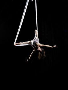 Hammock, dramatic pose, aerial, supported bridge