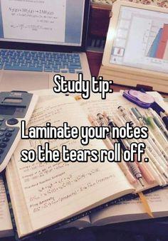 Nursing school study tip