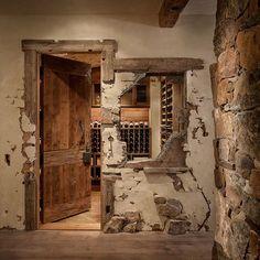 High Alpine Residence Wine Cellar
