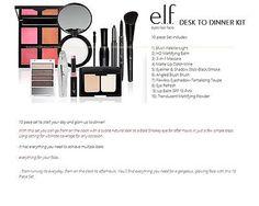 10 pc e.l.f. Cosmetics Set Eyes Lips Face Makeup Lot
