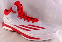 ADIDAS Basketball Shoes Men CRAZY LIGHT BOOST Red Gray Mid Top Retail $130 New!  | eBay