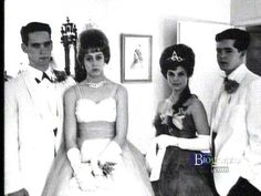 Going to the prom 1961; Priscilla the reigning Prom Queen!!!