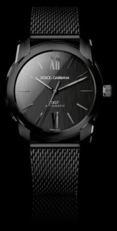 Men's Watch - Gold and Black PVD Dial - D&G Watches | Dolce & Gabbana Watches for Men and Women