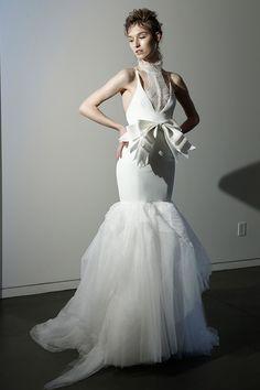 大膽與細膩:Vera Wang 2016年春夏婚紗系列