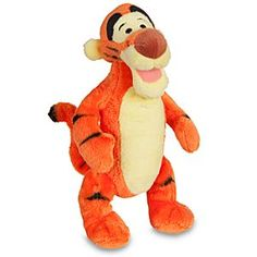 Disney Tigger Plush - Mini Bean Bag - 7'' | Disney StoreTigger Plush - Mini Bean Bag - 7'' - The most wonderful thing about this Tigger is he's just the right size to bounce in your bag to go with you on your next adventure.