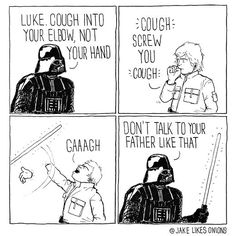 Respect your Elders #hilarious #funny #funnypicture #awesome #cool #wtf #meme #starwars #lukeskywalker #darthvader