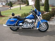 "Harley-Davidson ""Electra Glide In Blue"". We rented a Electra Glide for a trip to a Sun Valley B & B great ride, great trip with my hubby."
