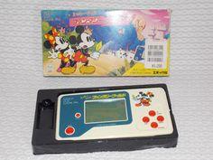 Mickey Mouse Fantasy World Handheld LCD Game Vintage 1989 Disney Epoch Japan #Disney