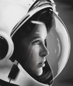 Astronaut Anna Lee Fisher, by John Bryson. LIFE magazine, around Anna Fisher, Light Shoot, Anna Lee, Space Girl, Portraits, Foto Art, Science Fiction Art, Pictures Of People, Retro Futurism