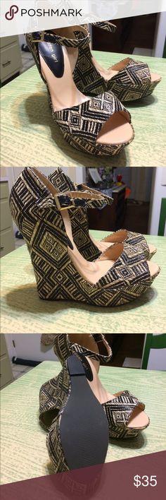 "Madden Girl (new) New never worn Madden Girl Wedge. Heel height is 5.5"". Madden Girl Shoes Wedges"