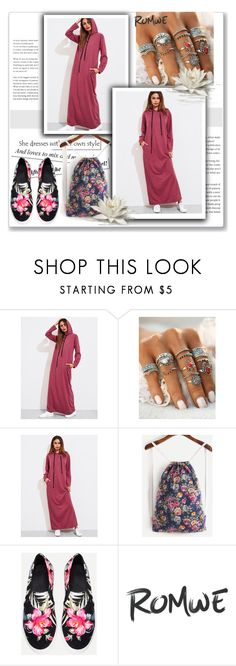 """Romwe 10/9"" by dilruha ❤ liked on Polyvore"