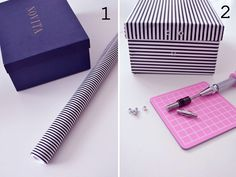 Heart Handmade UK: Gift Wrap and Storage Inspiration Diy Design, Creation Deco, Do It Yourself Crafts, Diy Projects To Try, Storage Boxes, Shoe Box, Easy Crafts, Upcycle, Reuse