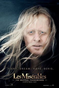 11 Film Posters Made Better By Boris Johnson