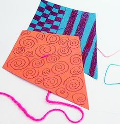 Children can make their own simple little kites with Colorations® that will flutter up behind them as they run and play! Goals: To have an enjoyable time making a simple kite that children can also…