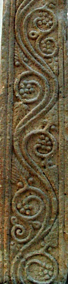 Cross detail. Lowther, Cumbria 8th-9thc. Exquisite!