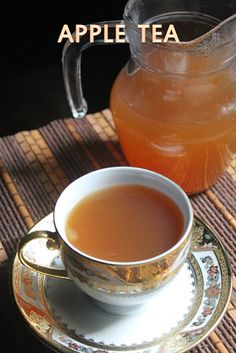 YUMMY TUMMY: Healthy Apple Tea Recipe - Apple Cinnamon Tea Recipe