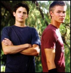 james lafferty & chad michael murray //one of the best shown if you ask me... ever ^^ //