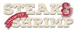 Steak & Unlimited Shrimp