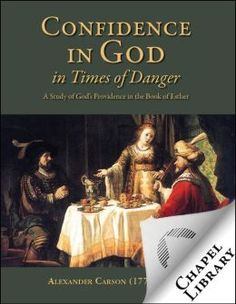 Another quality eBook from Chapel Library. This book gives a passionate explanation of God's workings in the Book of Esther. The author moves from Biblical insight to practical application in the lives of God's people today. When the times are turbulent and filled with all manner of possible dangers, the great God of the Bible is in control and can be trusted completely.