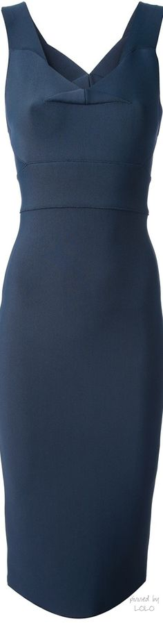ROLAND MOURET 'Ermelo' fitted dress. office style. work fashion