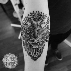 "timor2013: "" Started last week at AKA Berlin as resident tattooer. Thanks! """