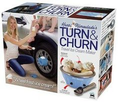 """New! Turn & Churn I bought some of these a few years ago and it was a hoot to watch the expressions on my kids faces as they """"saw"""" their gift......not. The boxes are really great and I love the size they come in."""