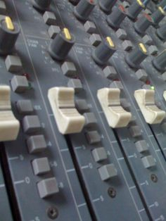 My church old sound board