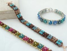 Crystal kisses bracelet......Cathy Lampole