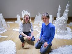 SAT/ACT Vocabulary Word Count: 28 Imagine building a 2,756 pound sugar cube sculpture with 4,999 other people. That's what this artist did! Read more and learn vocabulary words like collaborated, esoteric, genesis, metropolis, muse, and pristine. http://www.wired.com/design/2014/02/crazy-castle-created-sugar-cubes/