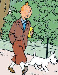 Tintin & Snowy. ❥Teresa Restegui http://www.pinterest.com/teretegui/board❥