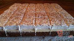 Oblíbený, chuťově fantastický zákusek, vhodný na oslavy nebo jen tak ke kávičce. Claudia S, Creme Dessert, Baking Tips, No Bake Cake, Vanilla Cake, Sweet Tooth, Dessert Recipes, Yummy Recipes, Brunch