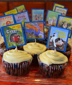 Book Cupcakes by Michelle McCallum, via Flickr