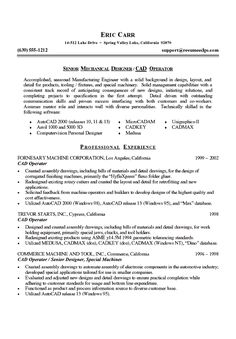 mechanical engineer resume example - Design Engineer Resume Example