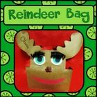 Students will love making a large reindeer bag to safely bring home all of their holiday crafts and goodies!