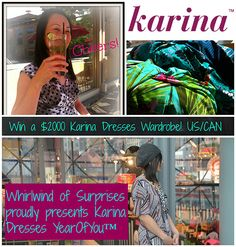 Karina giveaway