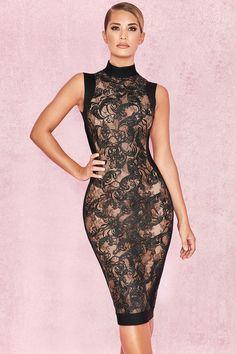 7b2b8156bab2a Clothing   Bandage Dresses    Merina  Black Bandage   Lace Dress Belles  Femmes,. Belles Femmes  Robes ...