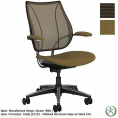 $779+ Humanscale Liberty Chair