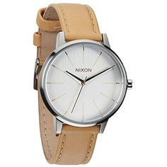 Nixon-Damen-Uhr-Kensington-Leather-A108-Farbe-Gold