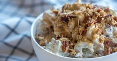 Crunchy Pecan Grape Salad