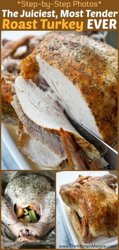 I recently learned How to Cook the Juiciest, Most Tender Oven Roast Turkey EVER .- I recently learned How to Cook the Juiciest, Most Tender Oven Roast Turkey EVER – and it has changed the way I am going to cook my turkeys from now on! Cook Turkey In Oven, Oven Roasted Turkey, Cooking Turkey, Baking A Turkey, Turkey In Roaster Oven, Cooking The Perfect Turkey, Turkey Prep, Slow Cooking, Cooking Recipes