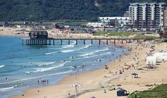 Durban South Beach - 20 best beaches in South Africa - Another great one which needs no introduction, Durban's South Beach is right in the heart of the city's famous beachfront, and is a great spot for swimming or just lazing about people watching. North Beach, Beach Town, Beaches In The World, Countries Of The World, West Coast Fishing, Clifton Beach, Durban South Africa, Most Beautiful Beaches, East Coast