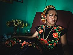 Muxes are considered a third gender rather than a sexual orientation.   One Photographer Showcases Mexico's Gender-Defying Indigenous Community