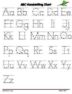 Free printable capital and small letter tracing worksheet alphabet letter writing chartuse these charts with your students to demonstrate the correct letter formation of the alphabet spiritdancerdesigns Image collections
