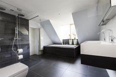 Moderne Witte Badkamer : 20 beste afbeeldingen van zwart witte badkamer washroom white